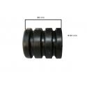Odbój gumowy bez śruby  wym:H:98mm Fi:84mm