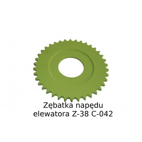 Zębatka napędu elewatora (Z-38 3/4' ) (617214)