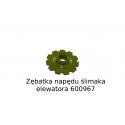 Zębatka napędu ślimaka elewatora (600967)