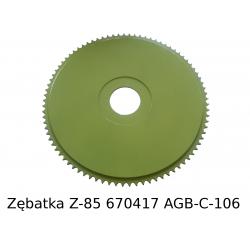 Zębatka Z-85 (670417)