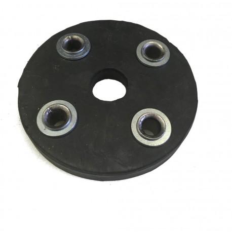 Tarcza gumowa sprzęgła rozrzutnika 4 otwory
